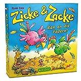 Zoch 601105055 - Zicke und Zacke - Ran an die Federn, Kinderspiel