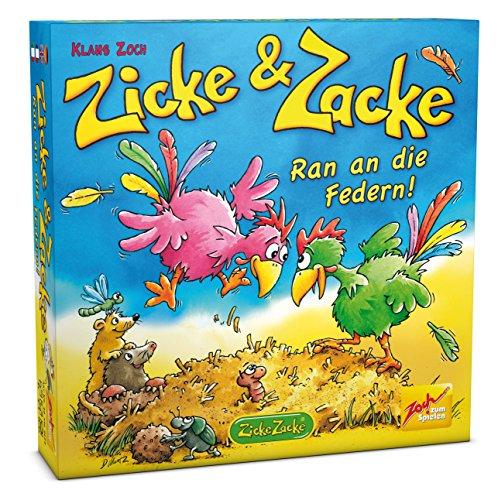Preisvergleich Produktbild Zoch 601105055 - Zicke und Zacke - Ran an die Federn, Kinderspiel
