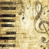 Serviette « Piano » 5 pc.
