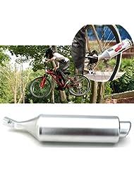 Moppi Bicicleta mountain bike turbina motocicleta tubo de escape de sonido con Motocard ajustable