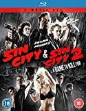 Sin City & Sin City 2: A Dame To Kill For [Blu-ray] [Import anglais]