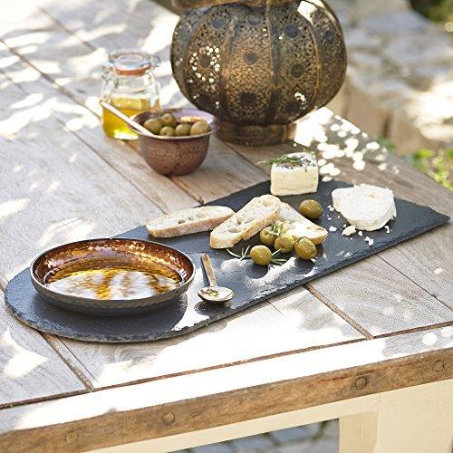 Lakeland-Tagliere in ardesia per formaggi & Copper & pane Piatto