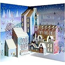 Forever pop112–Carte Pop-Up faite à la main avec technique au laser, motif: Chantres de Noël
