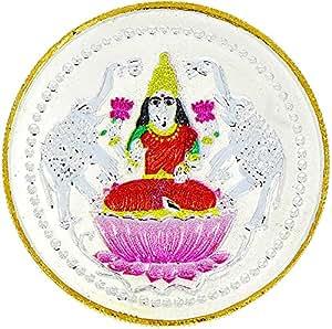 LGW Goddess Lakshmi Silver Precious Coin for Unisex (20Grams)