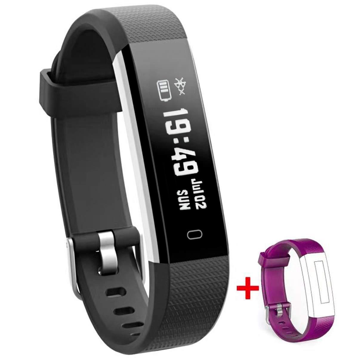 NAKOSITE RAY2434 Reloj inteligente mujer hombre Smartwatch Pulsera actividad relojes Inteligentes deportivo, Podometro… 1
