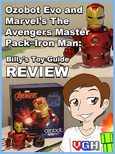 Image of Review: Ozobot Evo and Marvel's The Avengers Master Pack-Iron Man: Billy's Toy Guide Review