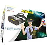 VR Headsets for Children + Game to Learn Spanish, French… Stem Toys. Kids Gifts for Boys and Girls for Age 5 6 7 8 9 10 11 12
