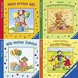 Ravensburger Mini-Bilderspaß 62 - Lachen, Lernen, Lieder singen (4er-Set)