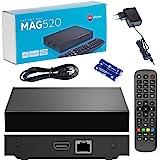 Originele Infomir MAG520 / 4K UHD IPTV Box / Internet TV / 2160p 60 FPS Multimedia Player IPTV Receiver Set Top Box / HEVC H.