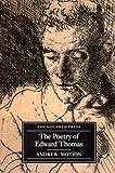 The Poetry Of Edward Thomas