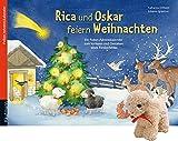 Rica und Oskar feiern Weihnachten: Adventskalender zum Vorlesen und Gestalten eines Fensterbildes mit einem Stoffschaf