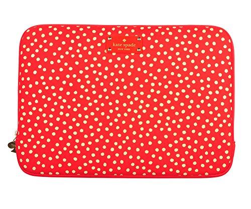 Kate Spade rot mit weiß Polka Dot 33cm Laptop - Notebook-tasche Kate Spade