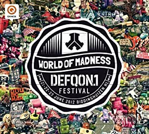 Various Artists - Defqon.1-Festival 2012 (+ Blu-ray, + Audio-CD) [Special Edition] [2 DVDs]