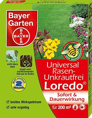 Bayer Garten Universal Rasenunkrautfrei Loredo Rasen-Unkrautvernichter, Beige, 40 ml