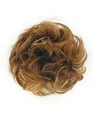 chouchou cheveux blond foncé cuivré ref: 17 en g27