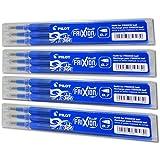 Frixion BLS-FR7 Tintenrollermine 0,7 mm, Blau, 4 x 3er Set