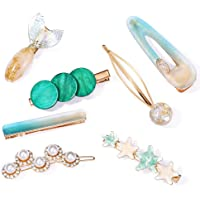 Jewels Galaxy Gracious Pearl Gold Plated Hairclip Jewellery for Women