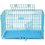 HANU Big &Adult Dog Heavy Duty Dog Crate Strong Metal Large Dog Cage 42 Inch
