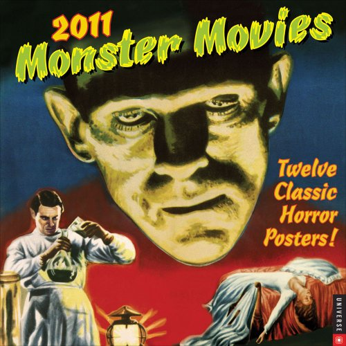 Universal Classic Monster Movies Calendar [With 12 Classic -