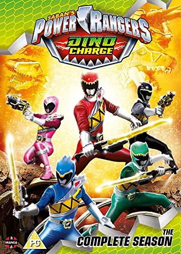 Power Rangers Dino Charge: The Complete Season Boxset (Episodes 1-22 incl. Specials) [DVD] [UK Import] (Power Rangers Dvd-set)