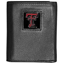 NCAA Texas Tech Red Raiders Leather Tri-Fold Wallet