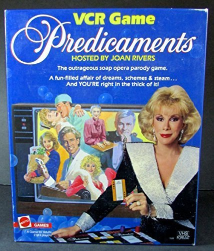 1986-mattel-predicaments-vcr-game-tv-soap-opera-hosted-by-joan-rivers-by-mattel