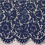 FidgetGear FP151 Spitzen-Stoffbesatz für Hochzeitskleid,