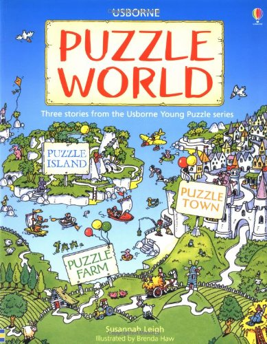 Puzzle World: Island/Farm/Town (Young Puzzles)