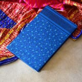 Doodle True Blue Ethnic Notebook, 160 Pages, Size A5 (8.5 X 5.5 inches)