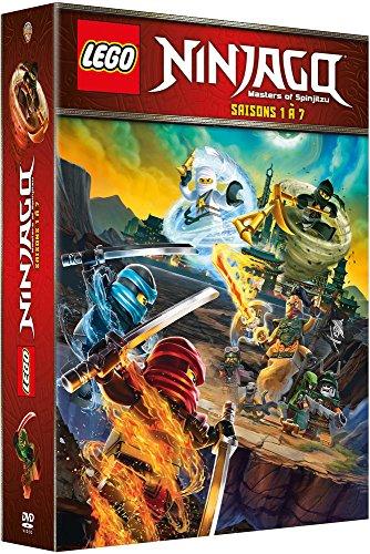 Lego Ninjago, Les Maîtres du Spinjitzu - La Série - Saisons 1 à 7 - Coffret DVD