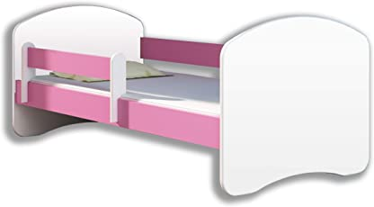 Kinderbett Jugendbett mit einer Schublade und Matratze Weiß ACMA II
