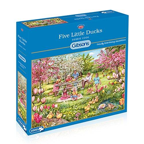 gibsons-g6207-five-little-ducks-jigsaw-puzzle-1000-piece
