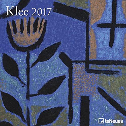2017 Klee Calendar - teNeues Grid Calendar - Art Calendar - 30 x 30cm