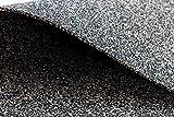Gummikork, Kork Gummi Granulat, Vibration Schutz Matte, Trittschalldämmung 100cm x 50cm 3 mm Stärke, ca. 550kg / m³, Verscork Objektqualität, auch zur vollflächigen Verklebung unter Massiv Parkett, PVC, Linoleum und Teppich geeignet.