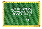 Flaggen Aufnäher Saudi Arabien Fahne Patch + gratis