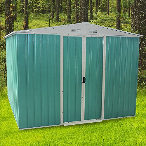 panana-8-x-10ft-metal-garden-apex-roof-storage-shed-with-free-ground