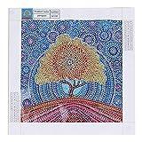Pittura diamante 5D fai da te completo trapano Golden Tree speciale a forma di dipinti di ricamo per la decorazione domestica