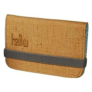 Haiku Women's RFID Eco Mini Wallet, Amber Gold
