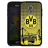 DeinDesign Samsung Galaxy S5 mini Silikon Hülle Case Schutzhülle BVB Muster Borussia Dortmund