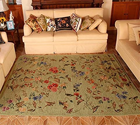Flash American country carpet Living room coffee table Bedroom Bedside Cloth art Environmentally thin Machine wash Sweet Rural