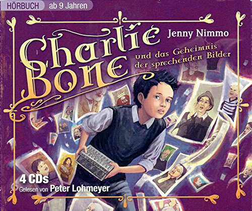 Charlie Bone und das Geheimnis der sprechenden Bilder: (4 CDs)