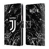 Head Case Designs Ufficiale Juventus Football Club Nero 2017/18 Marmoreo Cover a Portafoglio in Pelle per Samsung Galaxy J5 (2016)