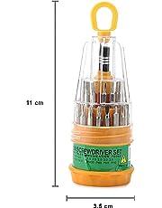 Veerobot Magnetic Precision Screwdriver Tool Set - 31 In 1 (Yellow)
