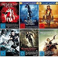 Resident Evil 1-6 komplett Set (FSK 18) - Deutsche Originalware