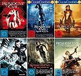 Resident Evil 1-6 komplett Set (FSK 18) - Deutsche Originalware [6 DVDs] -