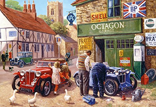 Gibsons - Puzzle, Soggetto: Octagon Garage, 500 pz.