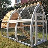 Pets Imperial® Dorchester Chicken Coop Hen House Poultry Nest Box Ark Rabbit Hutch Run
