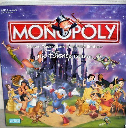 The Disney Edition Monopoly Board Game 2001 by - Monopoly Prinzessin