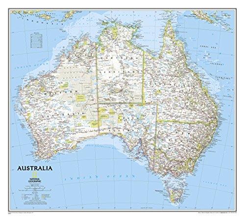 Australia Classic - Karte Von Australien