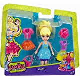 Pocket Polly Doll Fashion Set Polly Dress Turquoise – DWC83 with 3 Outfits And Jacket and Purse